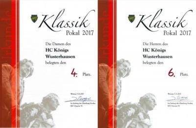 Foto zur Meldung: HCKW Damen und Männer erfolgreich beim Turnier in Weimar