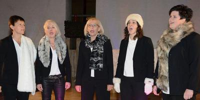 Foto zur Meldung: Frohsinn Chöre beim Melomania Konzert