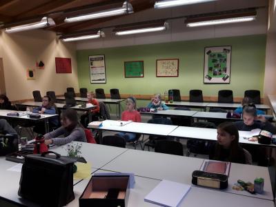 Foto zur Meldung: Auswertung der Regionalrunde der Mathematikolympiade