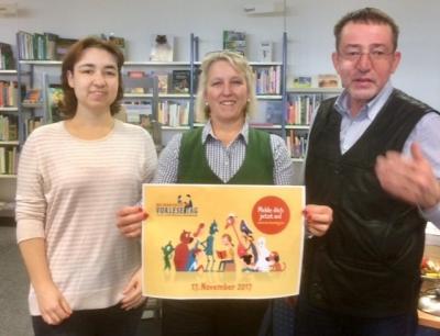 Foto zur Meldung: Vorlesetag mit Brunch in Neuenhagen