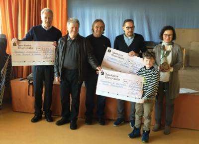 Spendenübergabe in der Grundschule Kleiststraße Bad Kreuznach