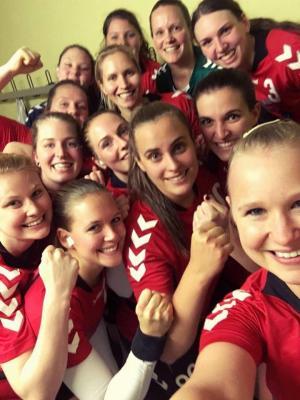 Vorschaubild zur Meldung: FSG Damen holen wichtige Punkte in hitziger Partie gegen die HSG Gettenau/Florstadt