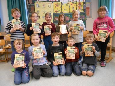 Foto zur Meldung: Bundesweiter Vorlesetag in der Grundschule Prackenbach