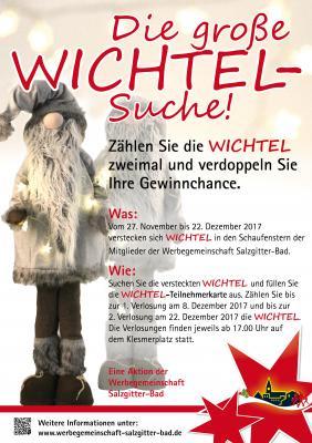 Vorschaubild zur Meldung: Unsere Weihnachtsaktion: Die große WICHTEL-Suche