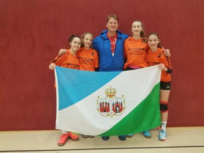 Vorschaubild zur Meldung: Saldrianer beim Bundesfinale/Volleyball WK IV 2017