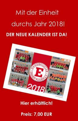 Der neue Einheit-Kalender ist da!