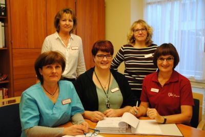 Vorschaubild zur Meldung: neues Leitungsteam im AWO Seniorenpflegezentrum in Wittenberge