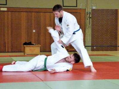 Kai Edelmann und Michel Stock in Aktion