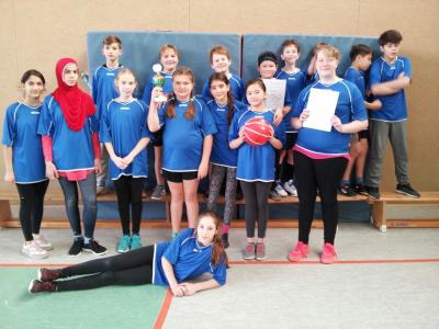Unser Basketballteam!