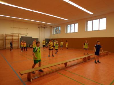 Foto zur Meldung: Zweifelderballturnier