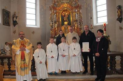 Foto zur Meldung: Am Christkönigssonntag auch der Hl. Cäcilie gedacht