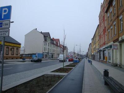 Vorschaubild zur Meldung: Bahnhofstraße in Senftenberg gesperrt