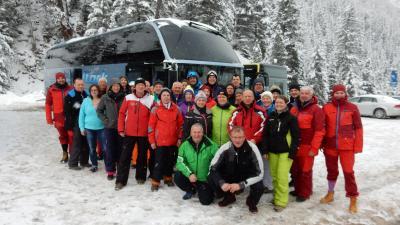 Abschied am Stubaier Gletscher