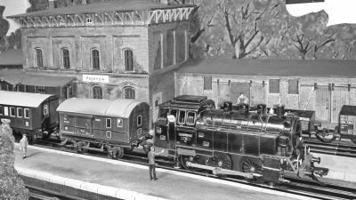 """Vorschaubild zur Meldung: Sonderschau """"Historische Spielzeugeisenbahn in Spur Null"""""""