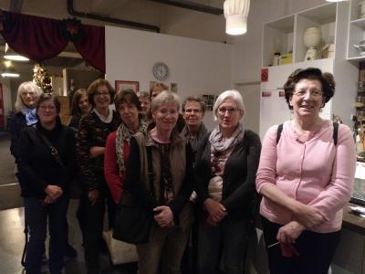 Foto zur Meldung: Fahrt der Frauengymnastik I zum Küchenmuseum und Weihnachtsmarkt in Hannover