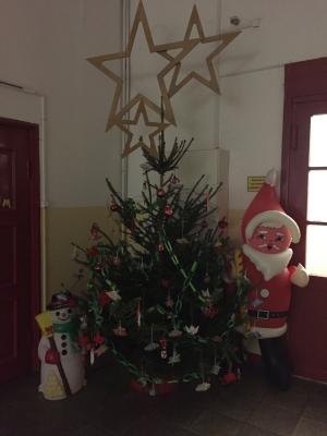 Foto zur Meldung: Weihnachtsprojekte an unserer Schule