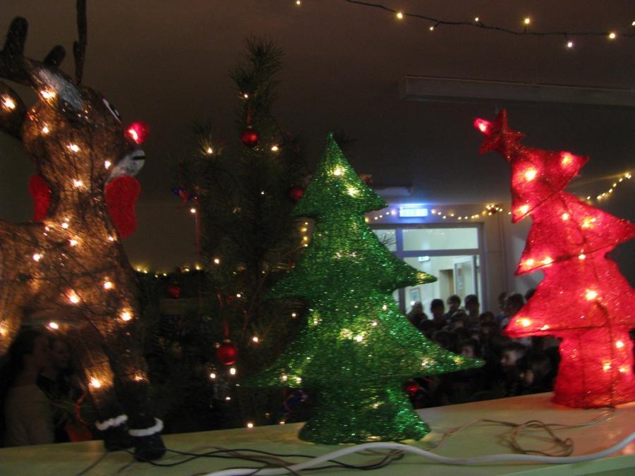 Weihnachtsmarkt Fürstenwalde.Fürstenwalde Spree Volles Haus Weihnachtsmarkt Tag Der Offenen