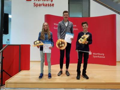 Cindy Haasch, Till Ruhmann, Max Herbrechter (vlnr)