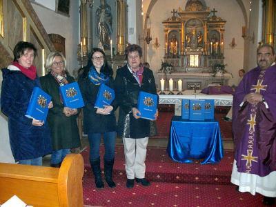 Foto zur Meldung: Feierliche Übergabe der Regensburger Sonntagsbibel