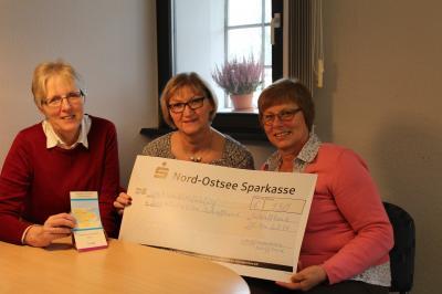Vorschaubild zur Meldung: Spende für die ambulante Versorgung Sterbenskranker