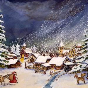 Vorschaubild zur Meldung: Dia-Ton-Show mit fantastischer Überblendprojektion rund um Weihnachten & Musik zum Täumen mit Orginalgesang von Nina & Thomas Mücke
