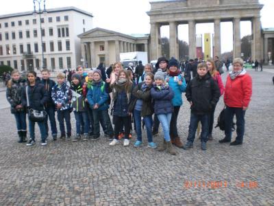 Foto zur Meldung: Projekttag in Berlin