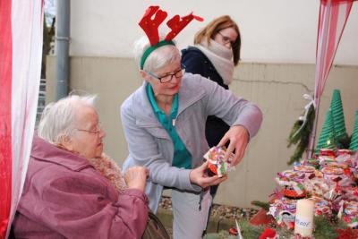Vorschaubild zur Meldung: Adventsbasar in der AWO Tagespflege in Perleberg