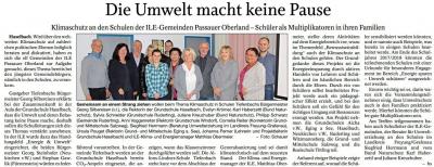 Vorschaubild zur Meldung: Klimaschutz an den Schulen der ILE-Gemeinden Passauer Oberland