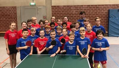 Vorschaubild zur Meldung: Bericht Zweite Nachwuchsmannschaftsmeisterschaften Tischtennis