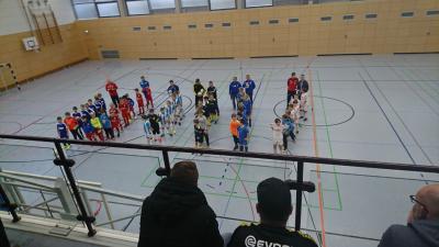 Foto zur Meldung: HKM-Vorrunde der E-Junioren II in Heringen: 3. Platz