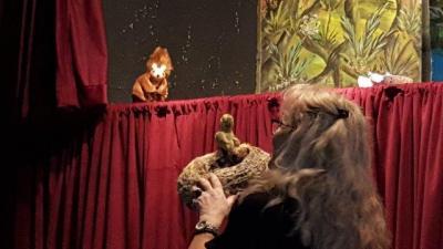 Foto zur Meldung: Puppentheater zum Nikolaustag