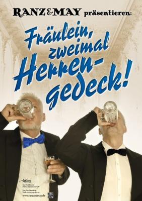 """Vorschaubild zur Meldung: """"Fräulein, zweimal Herrengedeck!"""" mit Michael Ranz und Edgar May"""