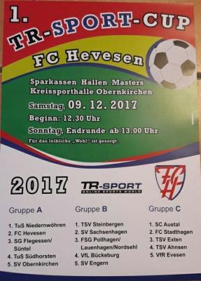Foto zur Meldung: Hallenturnier 1. TR-Sport-Cup 2017