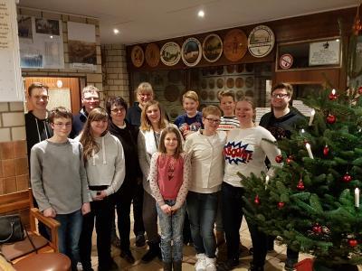 Foto zur Meldung: Jugend Weihnachtsfeier