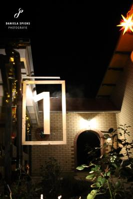 Foto zur Meldung: 1. lebendiger Adventskalender in unseren Gemeindedörfern Sülstorf - Sülte - Boldela