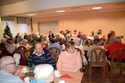 Vorschaubild zur Meldung: Klientenweihnachtsfeier der AWO Sozialstation in Wittenberge