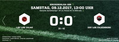 Foto zur Meldung: Fußball: +++ Remis im Spiel der Lokomotiven+++