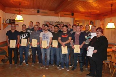 Foto zur Meldung: Jahresabschlussfeier beim SV – 2018 wird der Sportverein 50 Jahre alt
