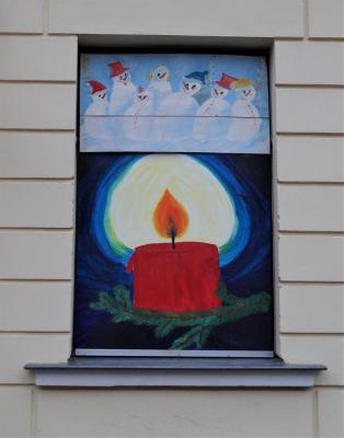 Foto zur Meldung: 11. Adventsbild: Grundschule Dargun