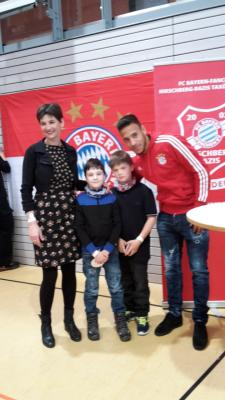 Foto zur Meldung: Fc Bayern-Star Corentin Tolisso in Bodenwöhr