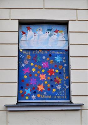 Foto zur Meldung: 12. Adventsbild: Schule/Kita Spatzenhaus