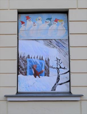 Foto zur Meldung: 13. Adventsbild: Grundschule Dargun