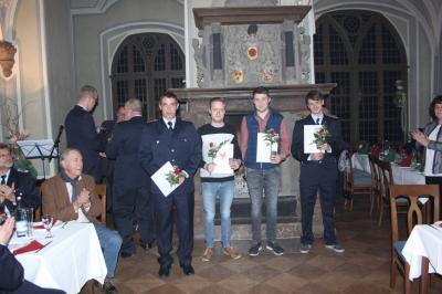 Vorschaubild zur Meldung: Feierliche Auszeichnungsveranstaltung für langjährige Mitglieder der freiwilligen Feuerwehren der Gemeinde Plattenburg