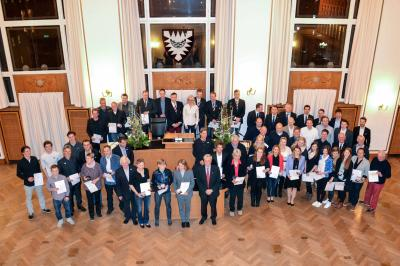 Vorschaubild zur Meldung: Ehrung erwachsener Sportler durch die Stadt Kiel