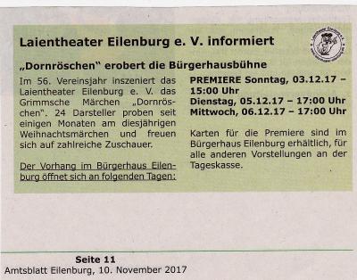 Amtsblatt, 10.11.17