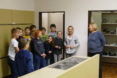 Foto zur Meldung: Backen mit Schülern der Struenseeschule