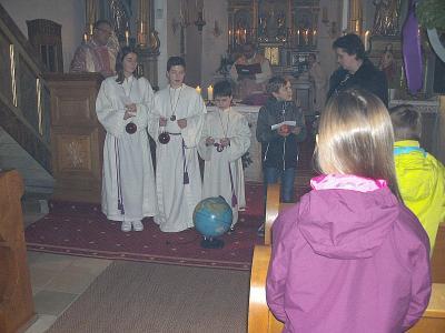 Foto zur Meldung: Familiengottesdienst zum 3. Adventsonntag in der Pfarrkirche St. Georg und der Filialkirche Krailing