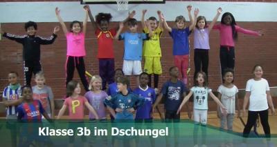 Vorschaubild zur Meldung: Klasse 3b - Im Dschungel - Dezember 2017
