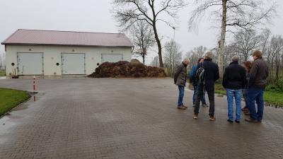 Vorschaubild zur Meldung: Exkursion nach Delbrück zu DENABA-Anlage
