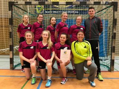 Vorschaubild zur Meldung: Kreismeisterinnen im Handball